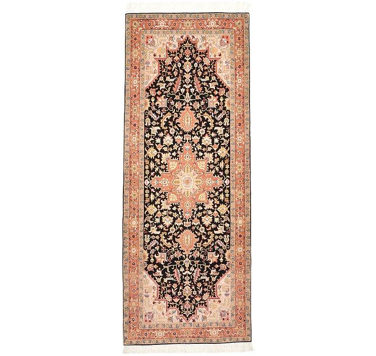 2' 9 x 7' Tabriz Persian Runner Rug