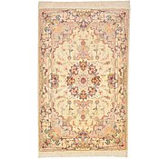 Link to 3' 4 x 5' 2 Tabriz Persian Rug
