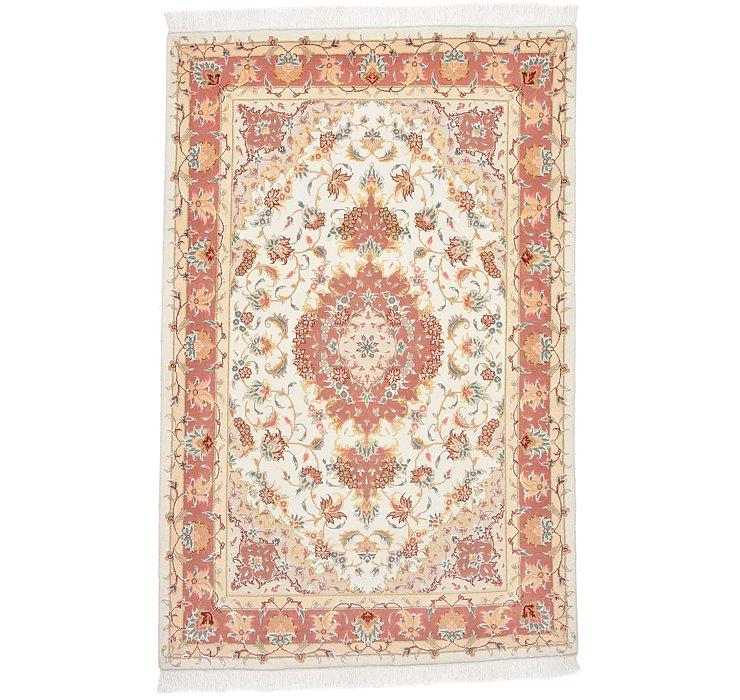 3' 3 x 5' 3 Tabriz Persian Rug