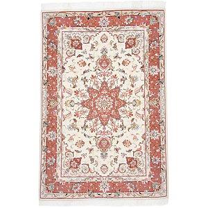 Unique Loom 3' 3 x 5' Tabriz Persian Rug