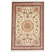 Link to 3' 4 x 4' 11 Tabriz Persian Rug