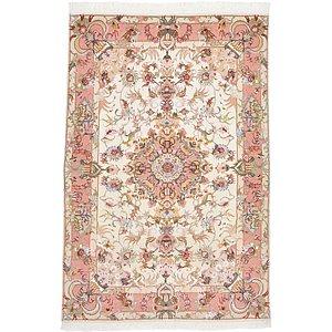 Unique Loom 3' 3 x 4' 11 Tabriz Persian Rug