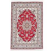 Link to Unique Loom 3' 3 x 4' 11 Tabriz Persian Rug