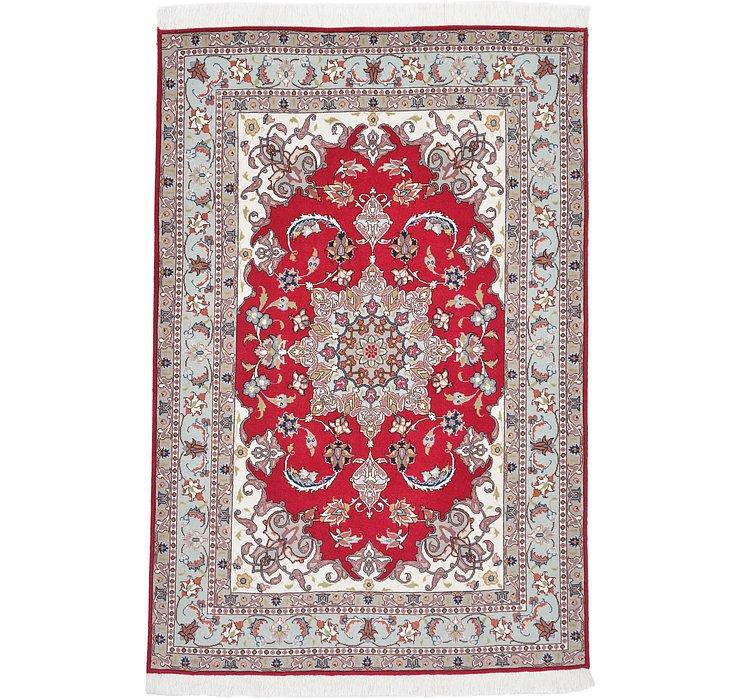 100cm x 150cm Tabriz Persian Rug