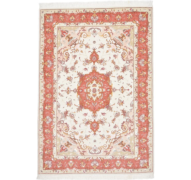 3' 3 x 4' 11 Tabriz Persian Rug