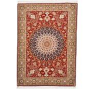 Link to 3' 6 x 4' 11 Tabriz Persian Rug