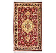 Link to 3' x 5' 1 Tabriz Persian Runner Rug