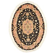 Link to 3' 3 x 4' 8 Tabriz Persian Oval Rug