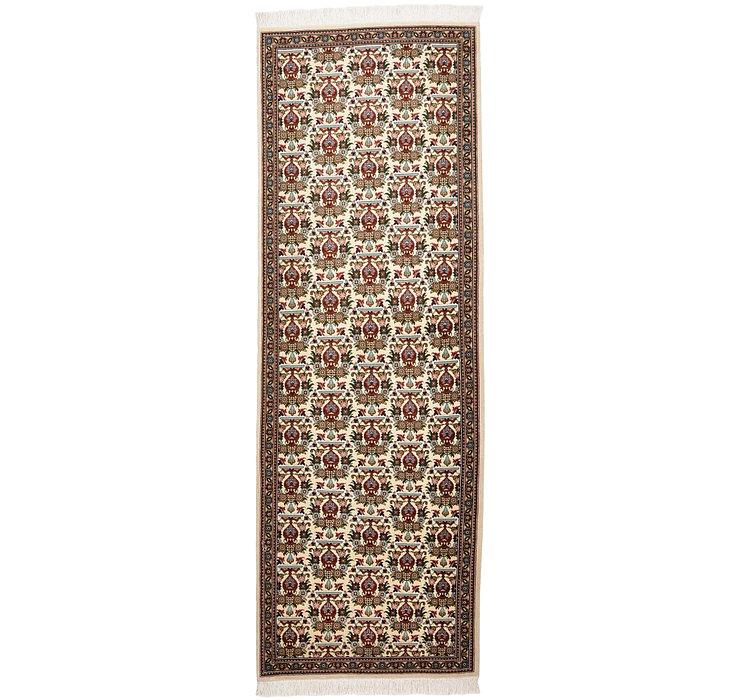 2' 2 x 6' 5 Tabriz Persian Runner Rug