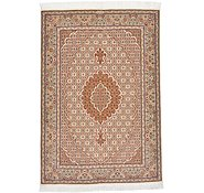 Link to 3' 5 x 4' 11 Tabriz Persian Rug