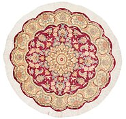 Link to 3' 3 x 3' 3 Tabriz Persian Round Rug