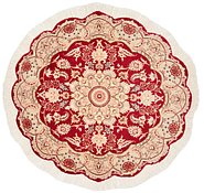 Link to 3' 6 x 3' 6 Tabriz Persian Round Rug