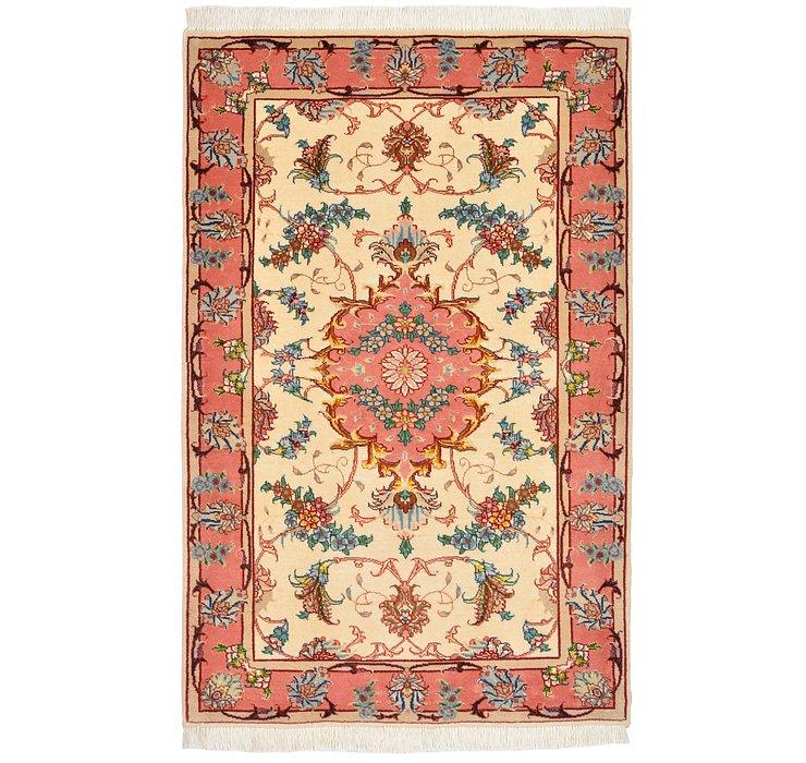 2' 5 x 3' 8 Tabriz Persian Rug