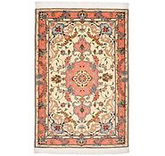 Link to 2' 8 x 3' 11 Tabriz Persian Rug