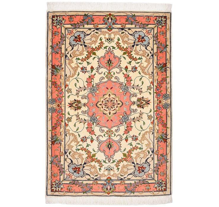 2' 8 x 3' 11 Tabriz Persian Rug