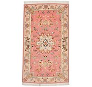 Link to 2' 4 x 3' 11 Tabriz Persian Rug