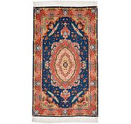 Link to 2' 4 x 3' 11 Tabriz Persian Rug