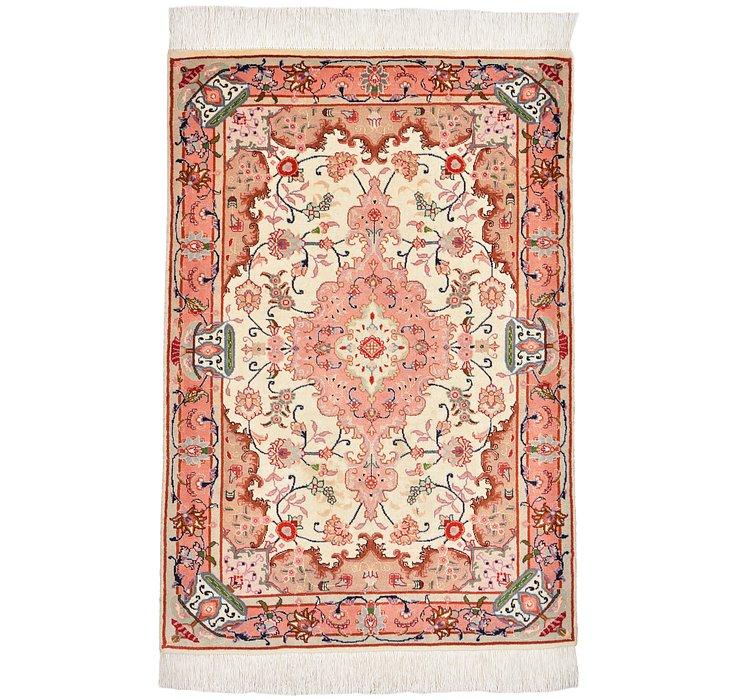 2' 7 x 3' 9 Tabriz Persian Rug