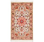 Link to 2' 5 x 3' 11 Tabriz Persian Rug