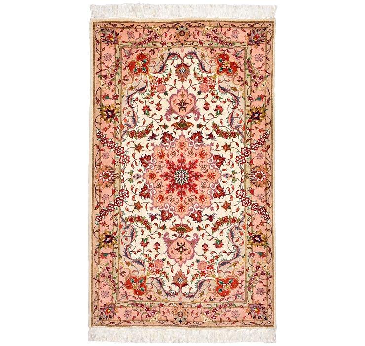 2' 5 x 3' 11 Tabriz Persian Rug