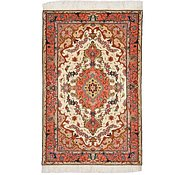 Link to 2' 6 x 3' 10 Tabriz Persian Rug