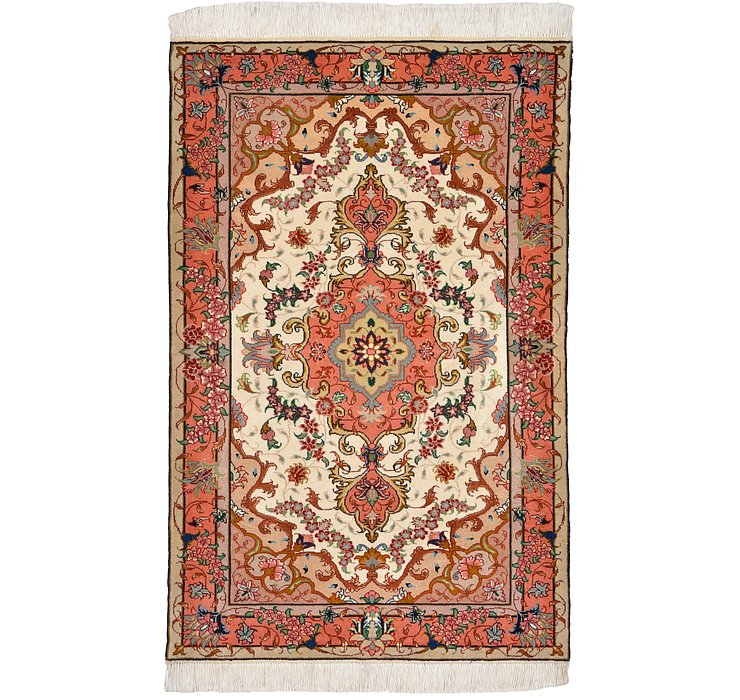 2' 6 x 3' 10 Tabriz Persian Rug