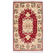 Link to 2' 4 x 3' 10 Tabriz Persian Rug