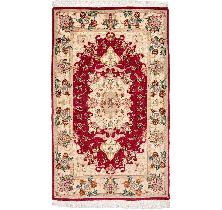 2' 4 x 3' 10 Tabriz Persian Rug