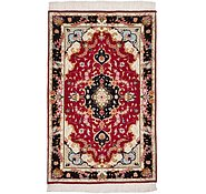Link to 2' 6 x 4' Tabriz Persian Rug