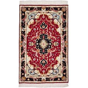 2' 6 x 4' Tabriz Persian Rug