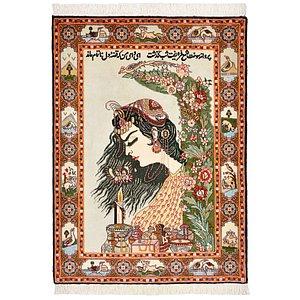 2' 4 x 3' 2 Tabriz Persian Rug
