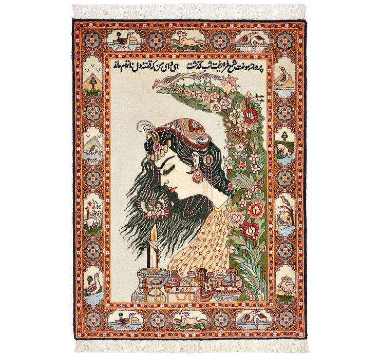 70cm x 97cm Tabriz Persian Rug