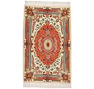 Link to 2' x 3' 2 Tabriz Persian Rug