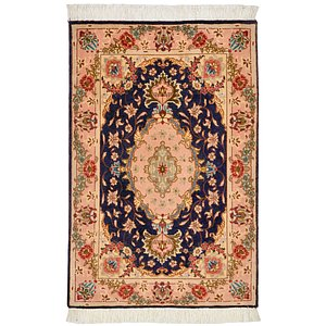 HandKnotted 2' x 3' Tabriz Persian Rug