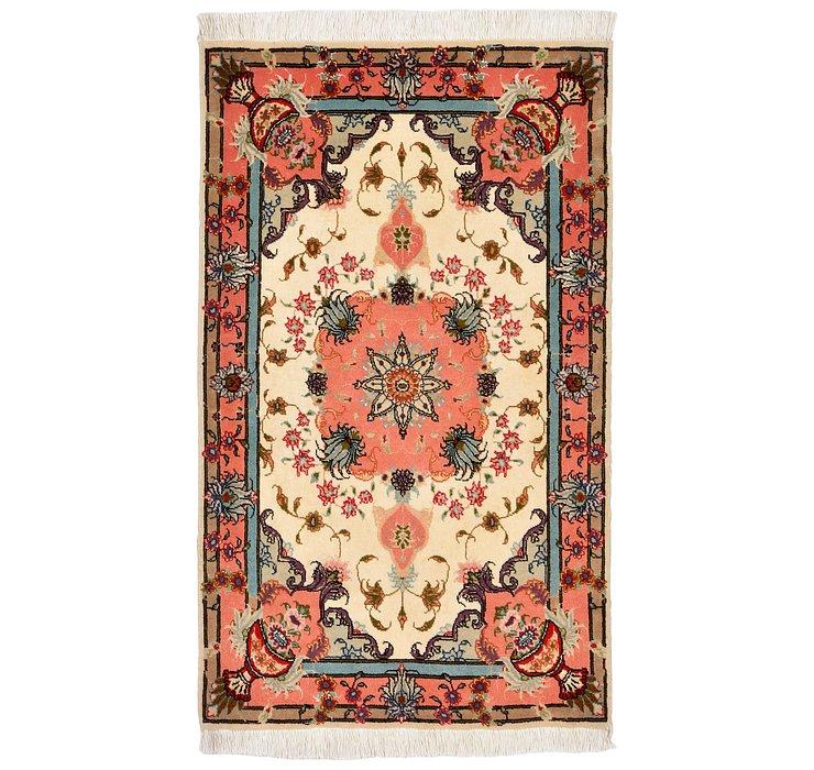 1' 10 x 3' 1 Tabriz Persian Rug