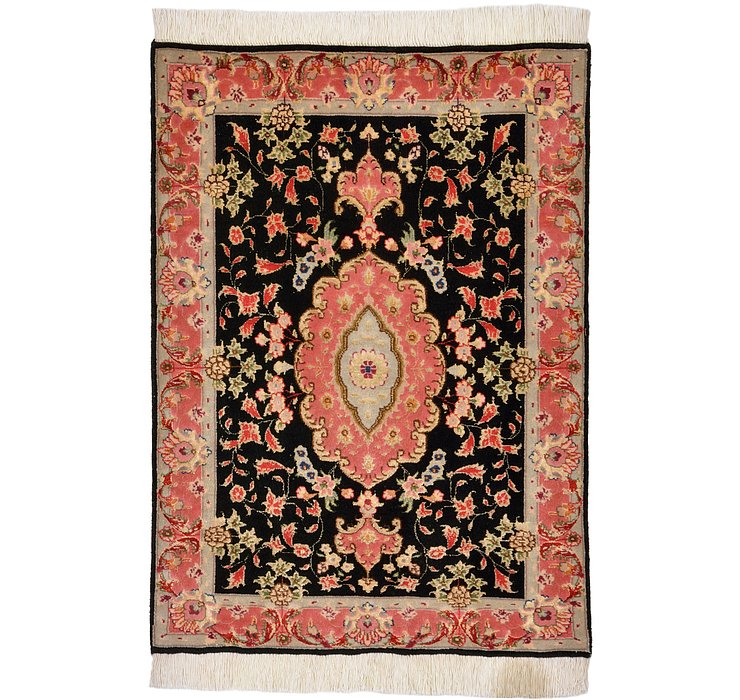 2' 1 x 2' 9 Tabriz Persian Rug