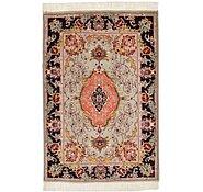 Link to 2' x 3' Tabriz Persian Rug