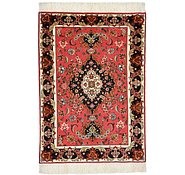 Link to 2' x 2' 9 Tabriz Persian Rug
