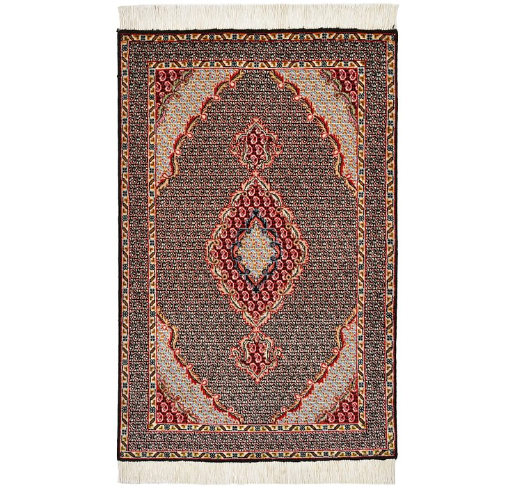 2' x 3' 1 Tabriz Persian Rug