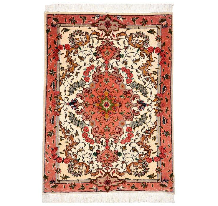 2' x 2' 10 Tabriz Persian Rug