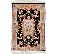 Link to 2' x 2' 10 Tabriz Persian Rug