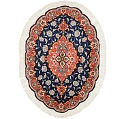 Link to 1' 9 x 2' 7 Tabriz Persian Oval Rug