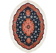 Link to 1' 11 x 2' 9 Tabriz Persian Oval Rug