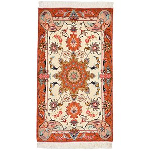 HandKnotted 1' 8 x 2' 11 Tabriz Persian Rug