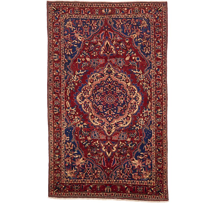 7' x 11' 4 Bakhtiar Persian Rug