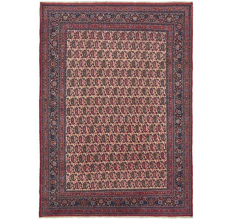 8' 8 x 12' Mashad Persian Rug