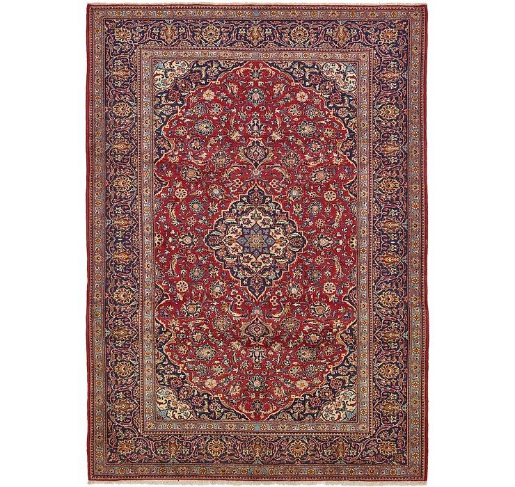 9' 2 x 12' 9 Kashan Persian Rug