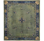 Link to 375cm x 432cm Antique Finish Oriental Square Rug