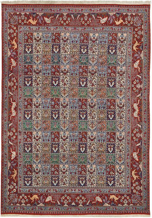 Rust Red 7 10 X 11 4 Mood Persian Rug Persian Rugs