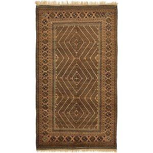 6' x 10' 6 Balouch Persian Rug